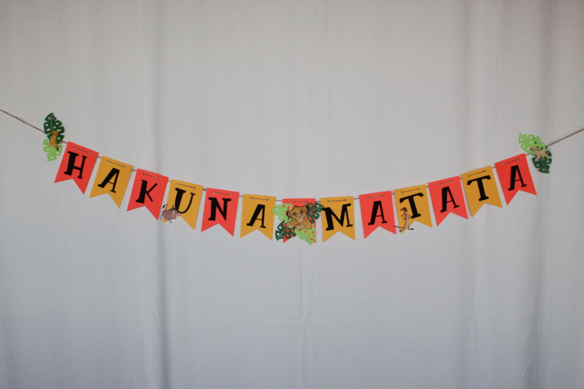Hakuna Matata banner hakuna matata birthday banner baby