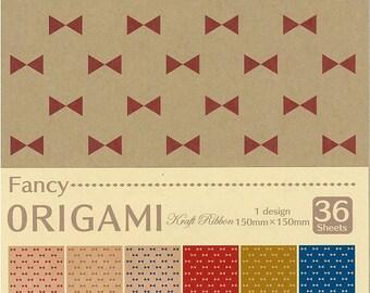 Japanese ORIGAMI paper Craft Ribbon Design