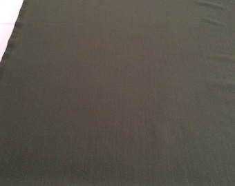 """Classic Dusty Sage Green Hi-End Wool with Lycra  62"""" wide x 4 1/2 yards-wrinkle resistant -free shipping"""