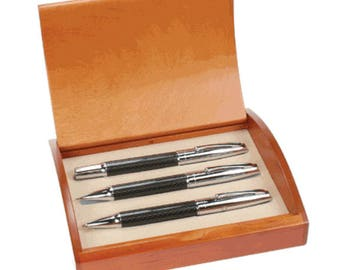 Personalized Executive Three Piece Pen & Pencil Gift Set -S63263