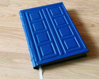 TARDIS Notebook inspired by River Song's Journal Diary Doctor WHO Handmade