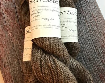 Leicester Longwool - Naturally Dyed - Walnut