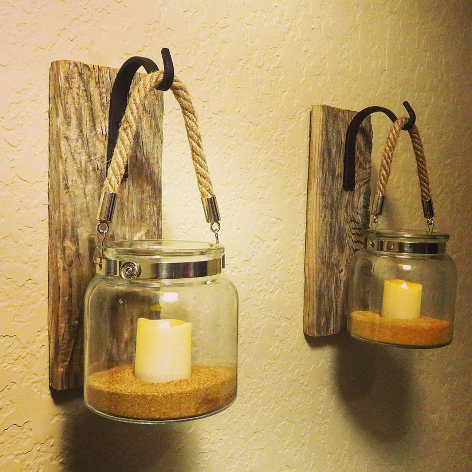 Lantern (2), Rustic Home Decor, Farmhouse Decor, Entryway Decor ...