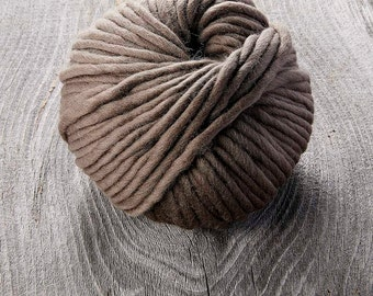 Sugarbush Yarn - Chill - 100% Extra Fine Merino Super Bulky and Chunky Yarn - Brown Bison