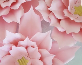 Paper Flowers  XL 5 designs to choose