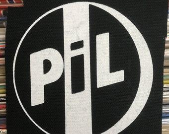 PATCH Public Image Limited PIL silkscreen