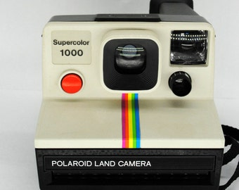 Polaroid 1000 Land Camera Vintage Instant camera Red Button Version - Very Good Condition