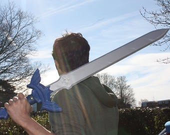 Link's Master sword from the Legend of Zelda Wooden Replica