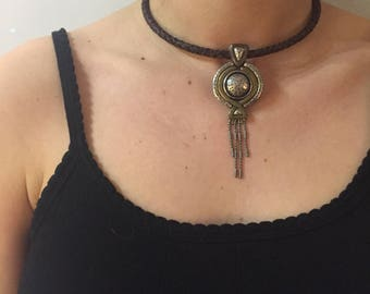 Vintage Statement Choker