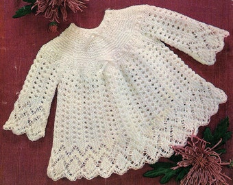 Baby Angel Top, Knitting Pattern. PDF Instant Download.