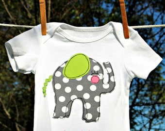 Baby elephant onesie sewing pattern