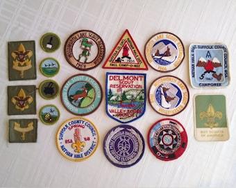 Boy Scout Patches, Merit Badges, 1960s