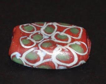 v9-  A tabular Venetian beads