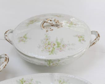Haviland Limoges Round Covered Dish