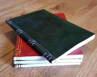 Luxury Leather Journal Themed on Slytherin House Colours