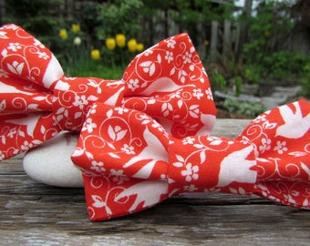 Gifts for Family Man Gift - Dad and Son Matching Bow Ties - Dad and Son Ties - Boys Bow Ties - Mens Bow Ties - Floral Tie Set - Matching Tie