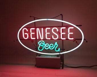 Vintage Neon Beer Signs Etsy