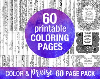 DIY Coloring pages printable sheets Scripture coloring download pages Bible study Bible verse printables