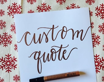 Your Custom Quote!