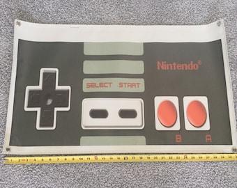 NES Nintendo Retro Controller Vinyl Banner