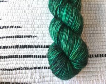 JADED | Merino DK | Hand Dyed Sock Yarn | 100% SW Merino | 230yds / 100g