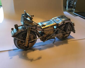 Motor Bike - Made from Watch Parts