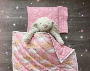 Unicorn Doll Blanket