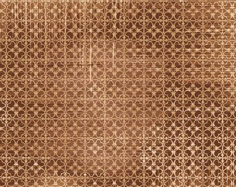 Ivory Kitchen by Ophelia and Company for Red Rooster Texture in Brown, cotton fabric quilting smudged geometric material