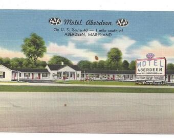 Postcard - Motel Aberdeen  SKU11721