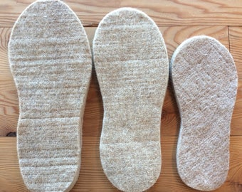 Felted Wool and Alpaca Boot Liners