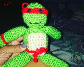 Crochet Ninja Turtle individuals