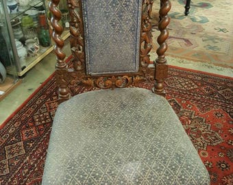 Beautiful ornate chair