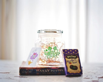 Harry potter, HoneyDukes candy, candy jar, Diagon alley, Harry Potter candy, Harry Potter decor, harry potter gift, harry potter christmas