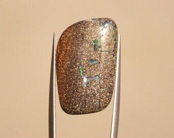 19.52 - Opal boulder - Queensland, Australia - Carat cabochon freeform