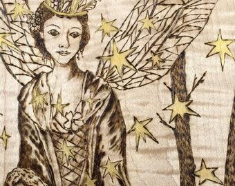 Fairy Queen Wood Plaque
