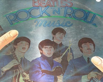 The Beatles vinyl record, Rock N Roll Music vintage record album