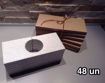 48 envelopes postcards, less than 2 cm slot of doom, recycled kraft cardboard jewelry, ETSY sellers, protection, ultra light