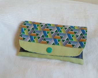 Tobacco pouch designs green graphics style wax