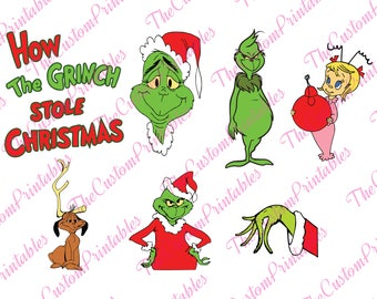 THE GRINCH, CHRISTMAS, Svg, Cut File, Vector, Cricut Files, Silhouette Files, Cameo, T-shirt