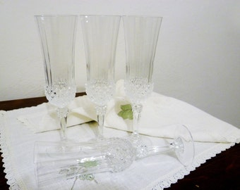 Crystal glasses for Champagne/Crystal glasses for champagne