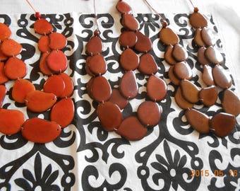 Tagua Flat Brown and Orange