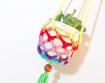 Mini Rainbow Plant Hanger