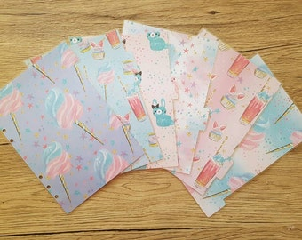 """A5 Planner Dividers 