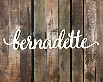 Custom Wood Words, Large Wooden Names, Personalized Wall Home Decor, Photography Props, Gallery Wall Words - LOWERCASE FONT