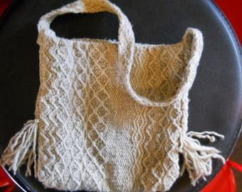 Vintage handwoven purse