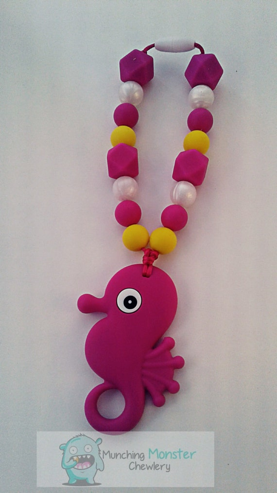 Seahorse Carrier Clip, baby wearing clip, teether, baby gift, Tula, Ring Sling, ERGO or baby wrap accessory, teething toy, chewlery, new mom
