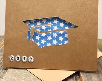 Graduation Hat Card, Graduation Card, Simple Graduation Card, Grad Card, For the Grad Card, Graduation Hat