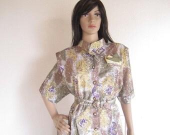 Vintage classic 80s dress dress Saidykhan M
