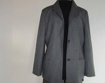 Vintage 90s Laurel Blazer jacket jacket wool L