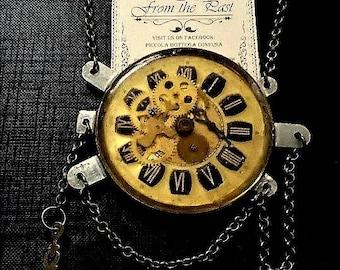 Steampunk Clock Pendant